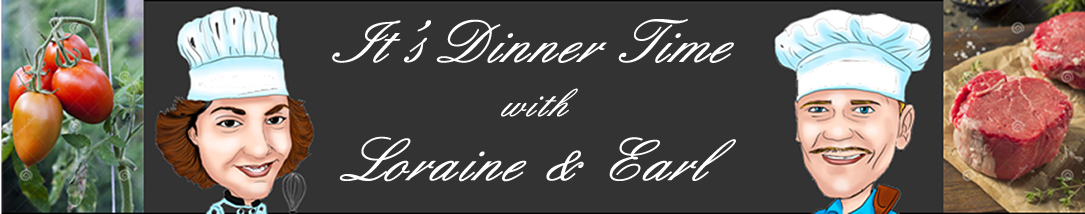 website banner for It's Dinner Time